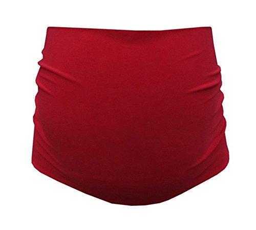 Mija - bande de ventre de maternité - 30 couleurs - Bande /ceinture de support 1024 Rouge