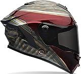 BELL caschi Street 2017Star Adult casco, Rsd Blast rosso scuro/nero, taglia 2x S