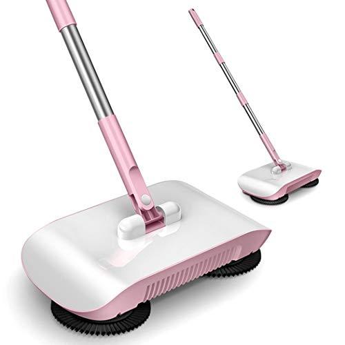 uswine 2 in 1 Hand Push Home Sweeper Besen Kehrschaufel Set Staubsauger Reinigungszubehör -