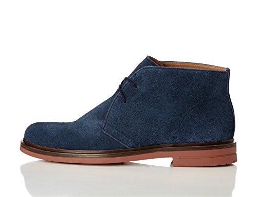 find-suede-casual-botas-desert-para-hombre-azul-navy-40-eu