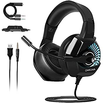 Gaming Headset PS4,ONIKUMA Gaming Headset for PS4 Nintendo