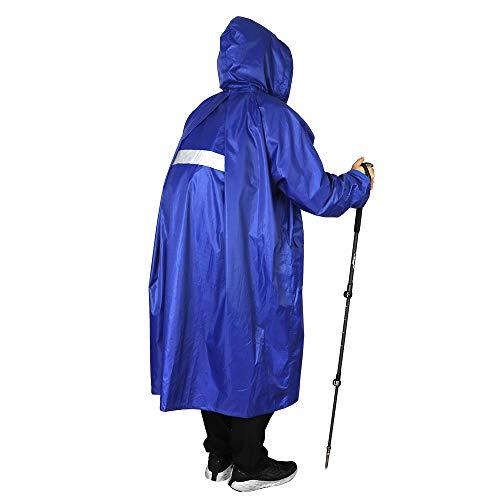 Anyoo unisex impermeabile leggero leggero impermeabile con cappuccio poncho impermeabile compatto riutilizzabile con maniche per backpacking camping outdoor