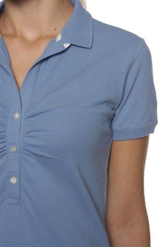 Etiqueta Negra Damen Shirt Poloshirt OIVINE Hellblau
