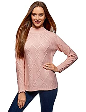 oodji Collection Mujer Jersey de