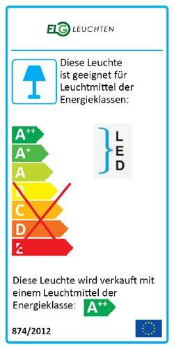 LED Design Rasterleuchte, 1500mm, 1-fl. inkl. LM 27W 6500K Tageslicht 4000lm Rasteranbauleuchte mit Doppelparabolraster (BAP), vorverdrahtet für LED Röhren, Büroleuchte,