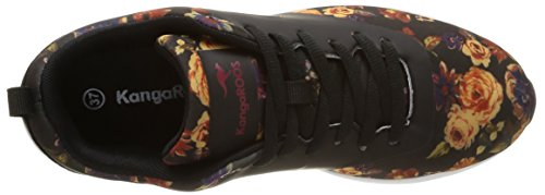 KangaROOS Kangacore 2106t, Baskets Basses Mixte Adulte Multicolore (Flower Print 569)