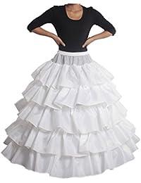 PJ enagua de la boda accesorios de la boda Enaguas Falda paseo vestido de novia de