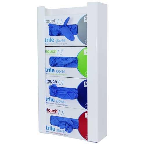Angloplas gd4-bio Quad Glove box dispenser, 27cm