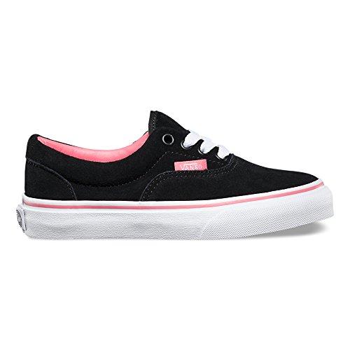 Vans ERA Unisex-Kinder Sneakers (suede)blk/stra