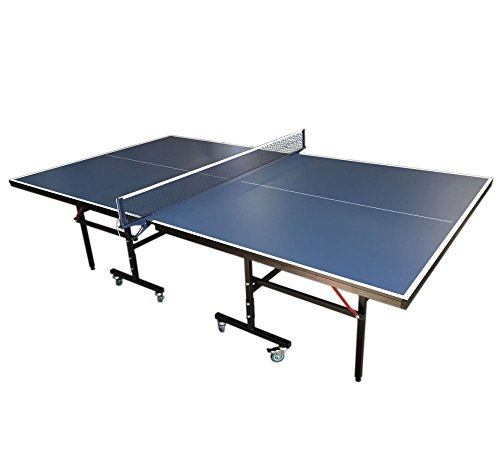 Blauer Outdoor-tischtennistisch (PROFESSIONELLE TISCHTENNISPLATTE Modell