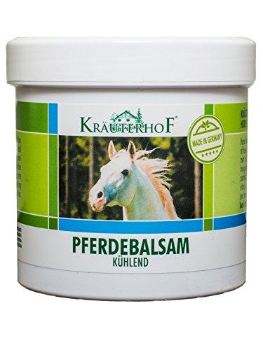12 Balsame (Kräuterhof 10450 Pferdebalsam Massage Gel Kühlend 250ml (G3/12))