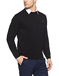 Monte Carlo Mens Cotton Sweater (8907678196559_1170552RN-14-38_Black)