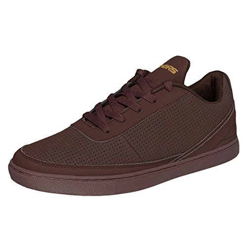 Dangerous DNGRS Homme Chaussures / Baskets Perforated Rouge