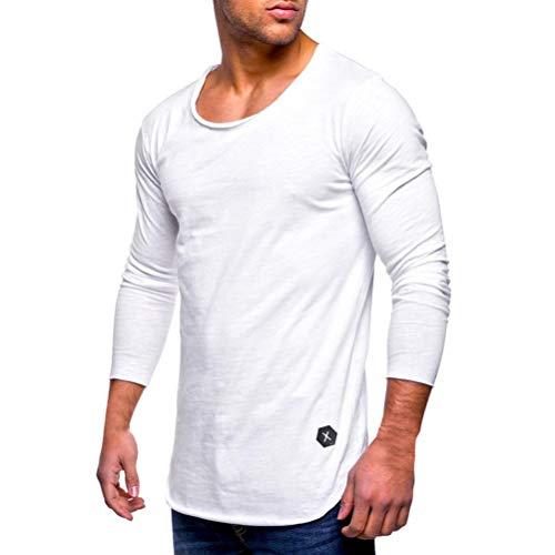f8d5b418218 Camiseta de Manga Larga Hombre, BBestseller Camisa Chándal para Hombre  Sudaderas con.
