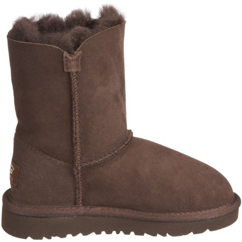 Ugg Australia Bailey Button Rasprose Classic, Boots fille Marrone (Cioccolato)