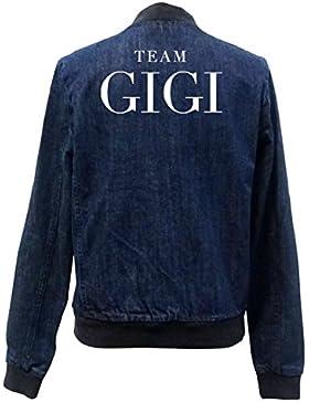 Team Gigi Bomber Chaqueta Girls Jeans Certified Freak