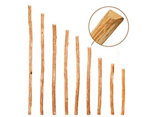 Zaunlatten aus Haselnuss Zaunbretter 5-6 x 180cm zum Selbstbauen von Holzzaun, Lattenzaun, Staketenzaun bzw. Kastanienzaun