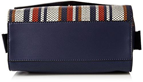 Fiorelli Damen MIA Henkeltaschen, Einheitsgröße Multicolour (french Navy Weave)