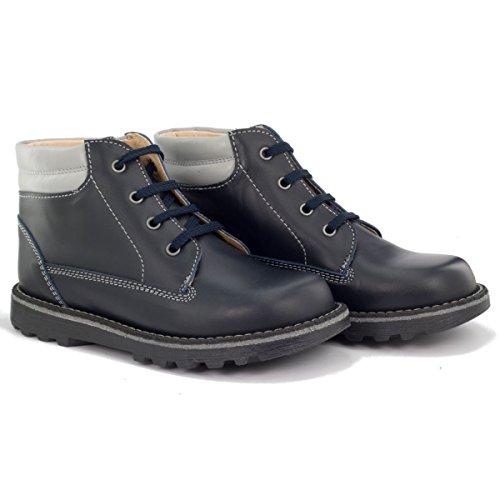 Boni Classic Shoes, Jungen Stiefel Marineblau