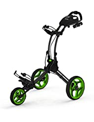 ClicGear ROV1C Carros De Golf, Unisex adulto, Negro / Verde, Regulable