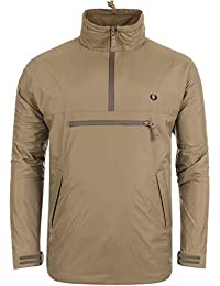 Fred Perry Half Zip Hooded Jacket