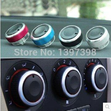 Zorux 3PCS/Lot f¨¹r Ford Focus Mondeo Klimaanlage Schalter AC-Drehknopf Auto W?rmesteuerung f¨¹r Fokus 2 Fokus 3 Auto-Zubeh?r -