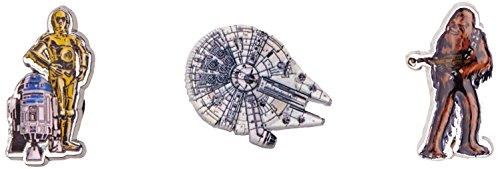 Starwars Light Side 3-Pack Schuhanhänger, Mehrfarbig (-), Einheitsgröße ()