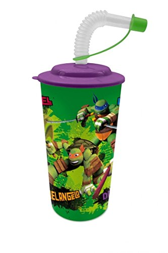 Teenage Mutant Ninja Turtles Tasse + Stroh (Suncity tob101412)
