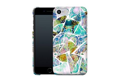 Handyhülle mit Designs für Sie: iPhone 7 Hülle / aus recyceltem PET / robuste Schutzhülle / Stylisches & umweltfreundliches iPhone 7 Case - Apple iPhone 7 Schutzhülle: Graphic 3 von Mareike Böhmer Marbled Earth Blue von Amy Sia