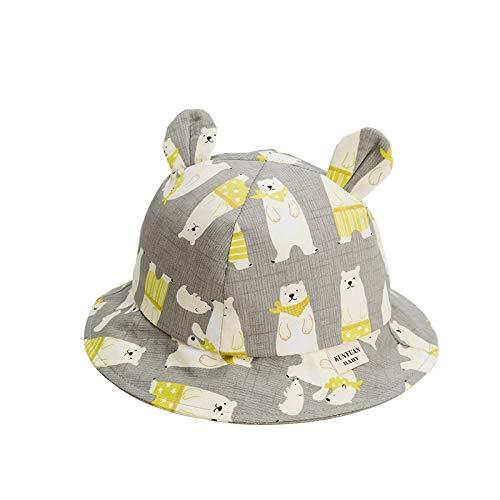 ute Baby Hut Für Mädchen Cartoon Jungen Hut Mit Ohren Frühling Herbst Kinder Cap Baumwolle Kinder Hüte Kleinkind Baby ()
