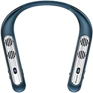 Bluenin Wearable Neckband Bluetooth 5.0 Speaker,Wireless Collar Speaker Qualcomm apt-X CVC 8.0 Noise Cancellin