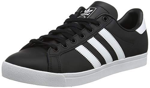 adidas Herren Coast Star Sneaker, Schwarz Footwear White/Core Black 0, 42 2/3 EU