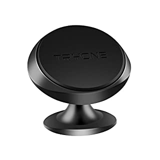 Tryone Magnetic Phone Holder, Magnetic Car Mount with Strong Magnet for iPhone X/8/7/7plus/6s/Samsung Galaxy S8 S7 S6 Note series and more (Black)
