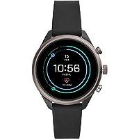 Fossil Sport, FTW6024, Smartwatch, Dames, Siliconen Armband, Zwart
