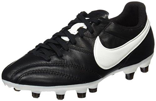Nike Herren The Premier FG Fußballschuhe, Schwarz (Black/Summit White-Orange Blaze), 36.5 EU