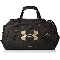 Under Armour UA Undeniable Duffle 3.0 SM Bolsa Deportiva, Unisex Adulto, Negro (004), One Size