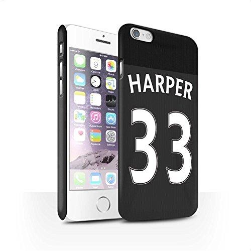 Officiel Sunderland AFC Coque / Clipser Matte Etui pour Apple iPhone 6S / Pack 24pcs Design / SAFC Maillot Extérieur 15/16 Collection Harper