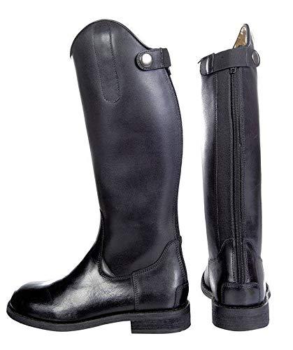 Knie Reitstiefel (HKM Erwachsene Reitstiefel -Córdoba Kinder-9100 schwarz34 Hose, 9100 schwarz, 34)