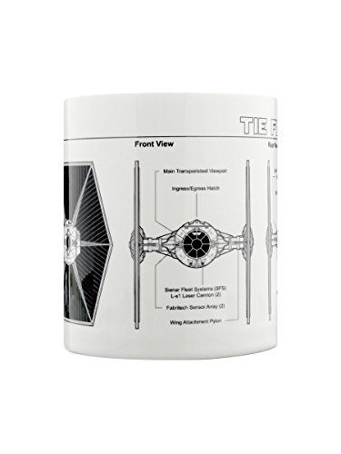 Star Wars Tie Fighter Sketch Keramik Tasse