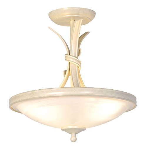 Nastro semi-incasso luce di soffitto avorio / oro