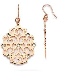 Leonardo Jewels Damen-Ring Arabesco Edelstahl Glas