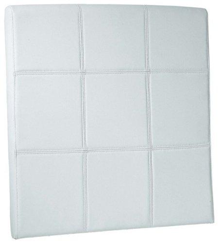Adec - Cabezal polipiel 90 roma, medidas 90 x 90 cm, color blanco