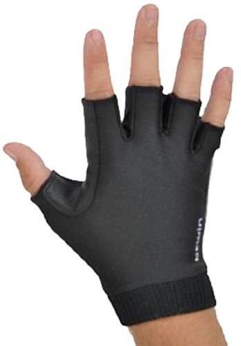 Btwin-Glove-3-2012-Adult-Glove-Black