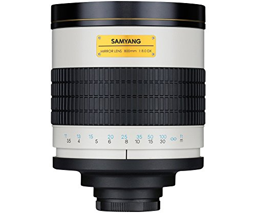 Samyang 800 f/8 - Objectif Catadioptrique