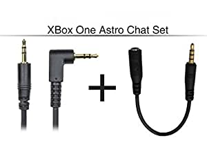 XBOX ONE® ASTRO CHAT TALKBACK ADAPTER – TALKBACK SET - TALKBACK CABLE & CHAT ADAPTER CABLE - REPLACEMENT LEADS for ASTRO AND TURTLEBEACH GAMING HEADSETS