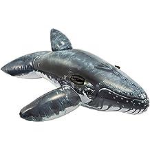 BESTWAY 41009 Aufblastier RIDE-ON Wal ORCA Schwimmtier Badetier 203cm Aufblastiere