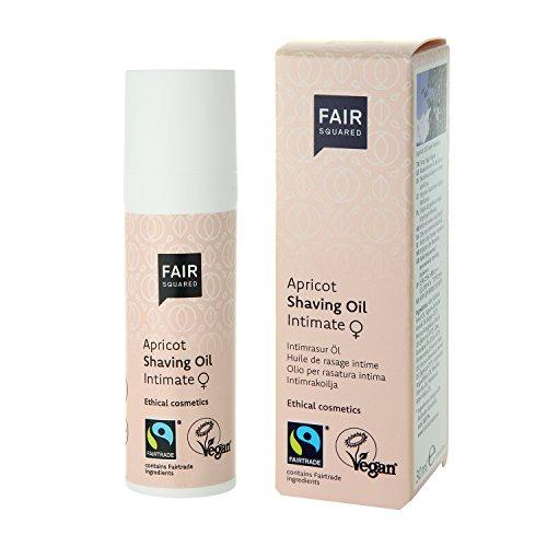 fair squared kondome FAIR SQUARED Rasuröl Women Apricot, vegane Naturkosmetik, 30 ml