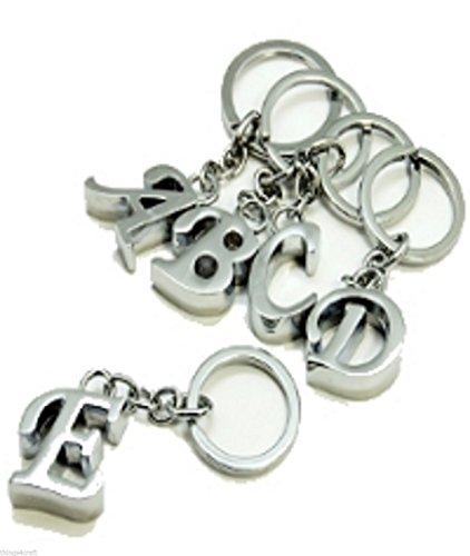 Schlüsselring mit Buchstabenanhänger, P