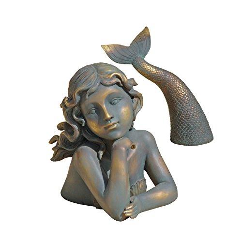 Design Toscano Merissa, Sirene des Meeres, Meerjungfrauenfigur
