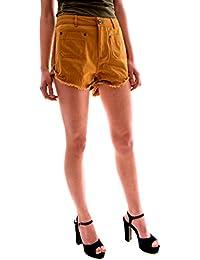 e542dc510e Amazon.es  Naranja - Pantalones cortos   Mujer  Ropa